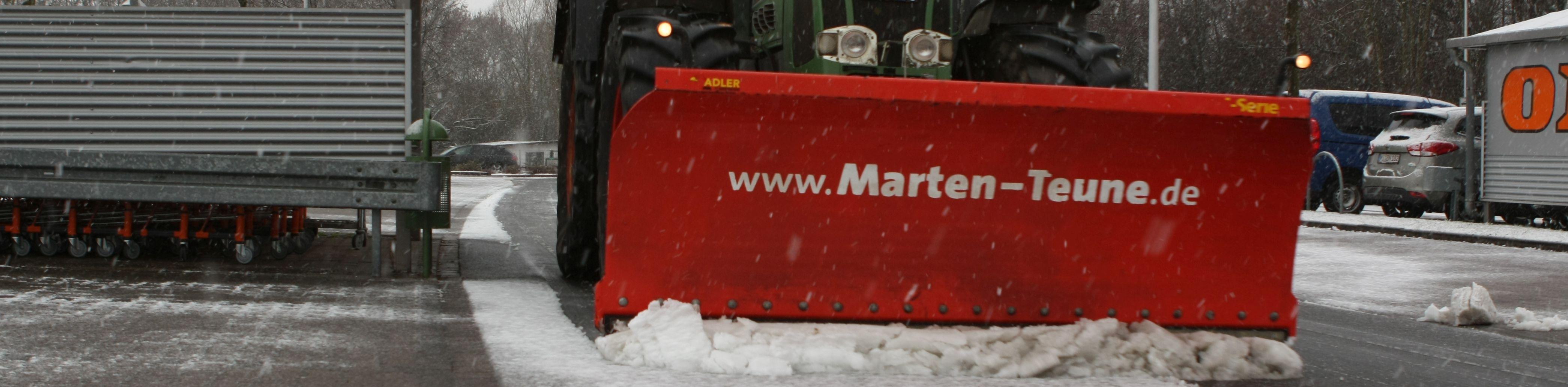 Winterdienst in Löhne und Bad Oeynhausen - Marten & Teune